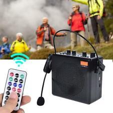 Outdoor Voice Amplifier with Wireless Microphone Headset Controller Loudspeaker