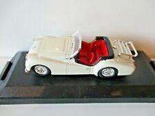 Retro Vitesse Models 1:43  243 TRIUMPH TR3a 1954  White Open Top   mint n boxed