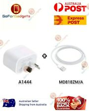GENUINE Apple Wall Charger + Lightning Cable For iPhone 5 6 7 8 X XR XS AU STOCK