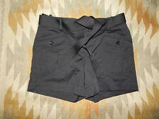 NWT Talbots Petite 8P Black Cotton Blend Shorts