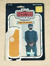 Vintage Star Wars The Empire Strikes Back Bespin Security Guard Kenner Card Back