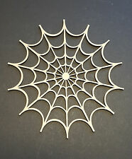 Spiders web MDF wall art craft shape halloween party