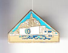 RARE PINS PIN'S .. TOURISME RELIGION CAMION TRUCK TFE MONT ST SAINT MICHEL 50~CR