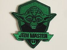 Star wars Yoda Jedi Master Force Embroidered Iron On / Sew On Patches Badges