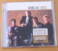 LEVEL 42 - GOLD - DEFIITIVE COLLECTION - 2CD - 2005 - OTTIMO CD [AA-091]
