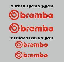 Brembo Motorsport Sponsoren Aufkleber Motorrad Auto