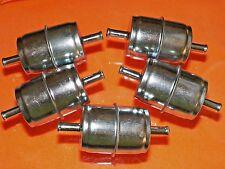 5/16 Inline Fuel Filter Ford GM Mopar (5 PACK) #1052