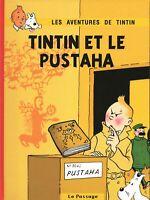 PASTICHE TINTIN. Tintin et le Pustaha. Cartonné 28 pages en n & b. ETAT NEUF