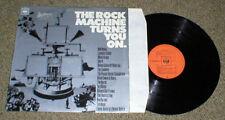 ROCK MACHINE TURNS YOU ON vinyl lp Byrds Mahal Dylan Spirit Peabut others