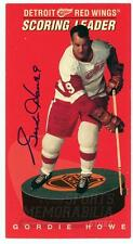 Gordie Howe Red Wings Signed Autographed 1994 Parkhurst Tall Boy Card #171