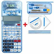 KAPEK Maths Set and Scientific Calculator Bundle. This Patented School