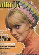 Revue Intimité N°1160 janvier 1968 roman-photo complet  tricot