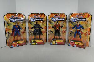 DC Universe Classics Mattel All-Stars Wave 1 Set of 4 (2012)
