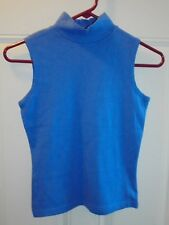 No Boundaries Juniors Girls Blue Sleeveless Shirt Size 3/5 NEW Clothes