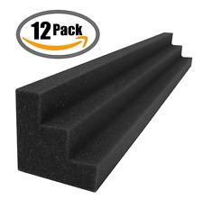 Acoustic Column Wedges x12 Noise Reduction Panels Corner Block Wall Sound Studio