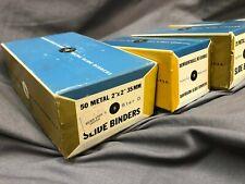 Slide Binders, Nos, 4 boxes of 25, 1 box of 50, original