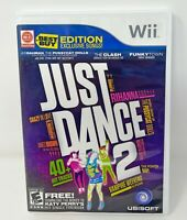 Just Dance 2 - Nintendo Wii Used Tested Works with Booklet