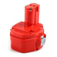 Powayup 14.4V 3.0Ah Remplacement pour Makita Batterie Ni-MH PA14 1420, Rouge