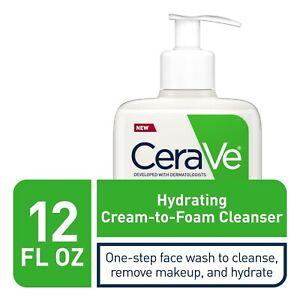 CeraVe Cream to Foam Cleanser 12 oz