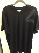 Mens Reebok Size 2Xl Black Playdry Tshirt Great Condition!