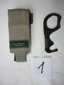 US BENCHMADE Medic Rescue Tool PREPPER Strap Army Cutter Survival Knife Messer