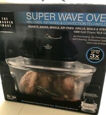 Sharper Image Super Wave Oven-Halogen/Infrared/Convection NEW IN BOX!!!