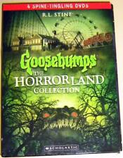 NEW GOOSEBUMPS The Horrorland Collection 4 Spine-Tingling DVDS