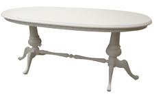 Tavolo ovale vintage laccato shabby chic - anni 50 60 - scrittoio - modernariato