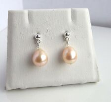 925 Sterling Silver Freshwater Pearl  Earrings