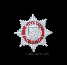 Somerset Fire Brigade Cap Badge