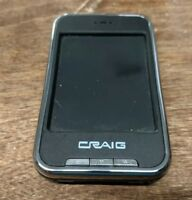 AS IS BAD BATTERY Craig 4GB MP3 Video Player with 2.8 Color Touch Screen