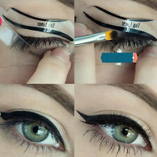 6Pcs Cat Eyeliner Stencil Models Template Shaper Bottom Liner Eye Makeup Tool