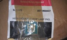 5AA93 CENTER BRAKE LIGHT KIT, GM #12321875, INCLUDES LAMP AND HARNESS, NOS