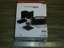 NINTENDO 3DS ORIGINAL OFFICIAL ACCESSORY CONSOLE GAME CASE STYLUS EARBUD KIT NEW