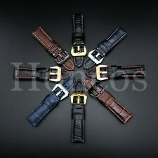 20-26 MM Leather Crocodile Alligator Watch Strap Fits For Panerai Luminor 2020