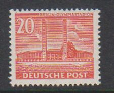 Germany (Berlin) - 1953, 20pf Olympic Stadium stamp - MNH - SG B42b