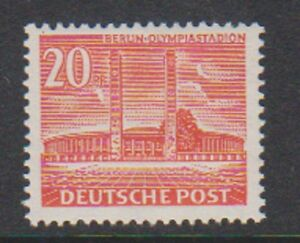 Germany (Berlin) - 1953, 20pf Olympic Stadium stamp - MNH - SG B42b