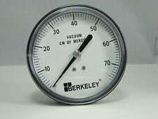 "Pressure Gauge 161592A V844UK 3 1/2"" 76cmHG 1/4"" CBM"