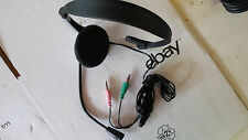 Deluxe HIFI-HEADSET Boom Microphone Ideal f. DIGITAL Sound CD/MD/Mp3/Mp4/Walkman