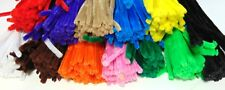 """BULK QUANTITIES - CHENILLE STEMS CRAFT PIPE CLEANERS 12"""" ASSORTED COLOURS"""