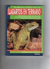 LIBRO LAGARTOS EN TERRARIO