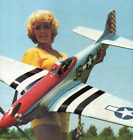 60 inch P51 Mustang  Sport Scale RC AIrplane Printed Plans