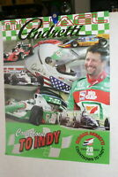 MICHAEL ANDRETTI 20TH ANNIV. AT INDY 500 2003 FULL COLOR POSTER 20 X 28