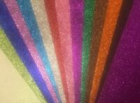 5 X  A3 500 mm x 350 mm GLITTER FOAM SHEETS ART & CRAFT EVA 14 COLOUR 50 X 35CM