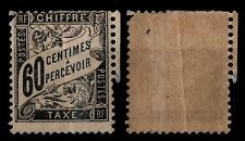 TAXE DUVAL 60c noir, Neuf * = Cote 1.000 € / Lot Timbre France n°21 - 2nd choix