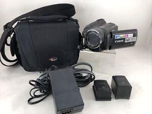 Canon VIXIA HG20 DVD Camcorder, 60GB Hard Drive, HD Video w/ Accessories *EUC B4