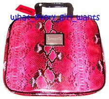 NEW BETSEY JOHNSON Pink faux snakeskin python LAPTOP NOTEBOOK SLEEVE CASE BAG