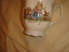 royal doulton the birthday mug brambly hedge very good condition