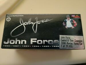 John Force 1996 ~ 6X Champion Funny Car 1:64 Scale Die Cast