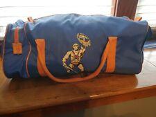 Vtg 1982 Masters Of The Universe He-Man Duffel Bag, Orange And Blue, Mattel Toys